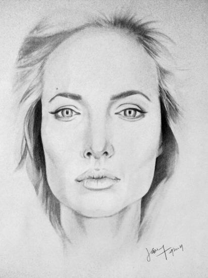 Angelina Jolie by jamz